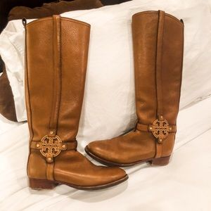 TORY BURCH riding boots size 7.5M